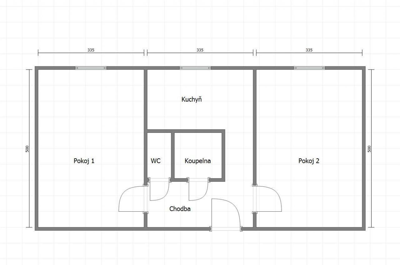 Byt 2+1, ul. Březová 528, Karviná - tento byt vám bude vydělávat 5.300 Kč měsíčně